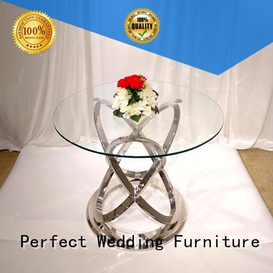 Perfect Wedding Furniture white top table wedding in various sizes for wedding ceremony