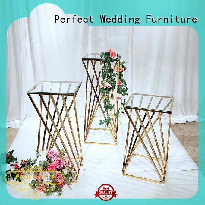 Perfect Wedding Furniture Custom floral stand Suppliers for hotel