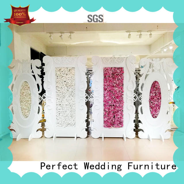 Perfect Wedding Furniture Brand inside gold white wedding screen dividers sliver