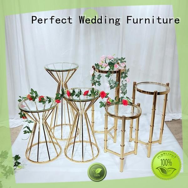 Latest floral stand stainless manufacturers for wedding ceremony