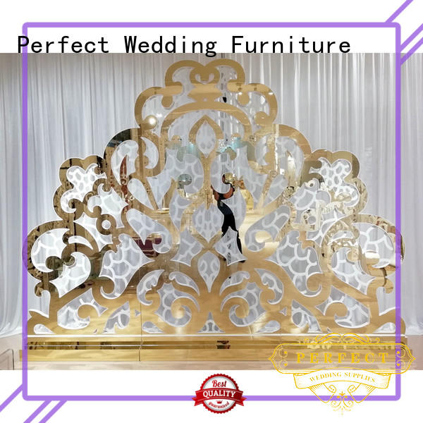 Perfect Wedding Furniture High-quality wedding screen decorations company for hotel