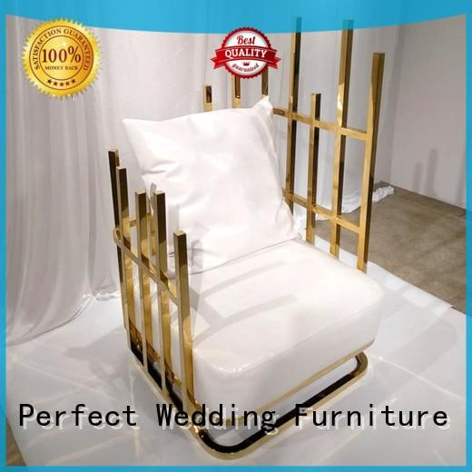 high quality king and queen chairs stainless wholesale for hotel