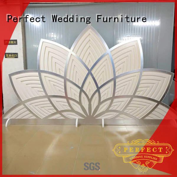 Perfect Wedding Furniture high quality decorative room dividers pvc for hotel
