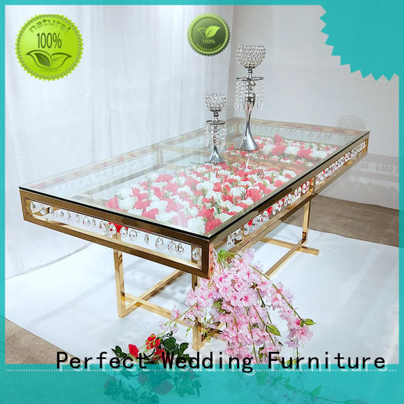 customized wedding top table ideas stainless manufacturer for wedding ceremony