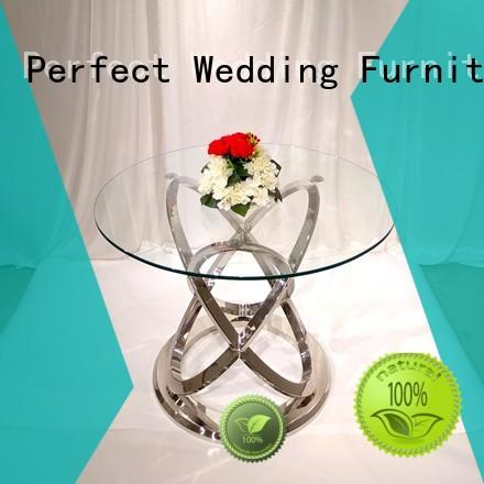 Perfect Wedding Furniture steel wedding banquet tables Supply for wedding ceremony