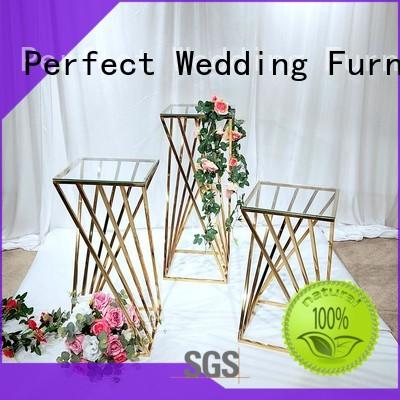 steel flower stand for wedding decoration series for hotel Perfect Wedding Furniture