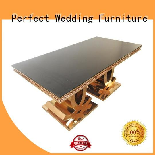 wedding dining table gold for dining room Perfect Wedding Furniture