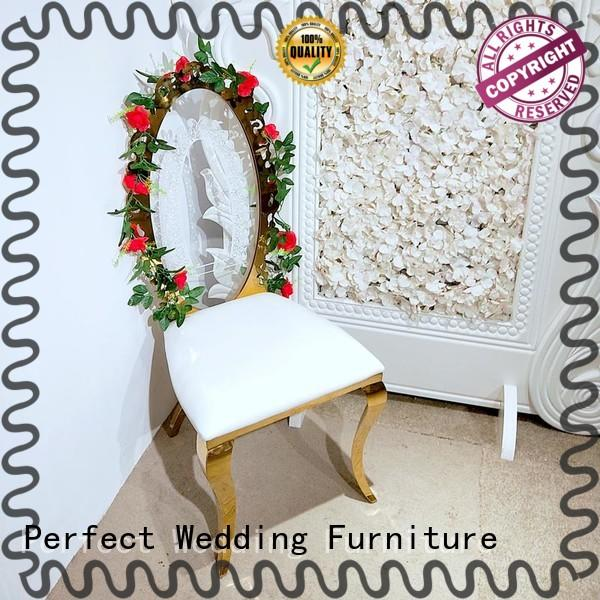 Perfect Wedding Furniture durable catering chairs supplier for hotel