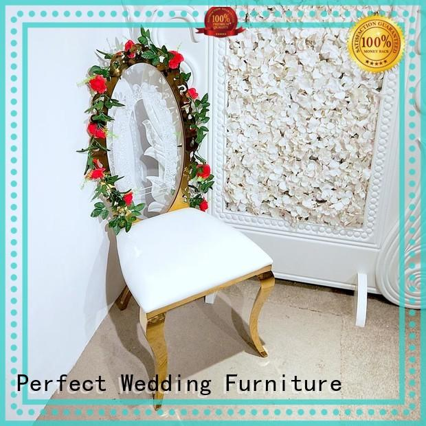 Perfect Wedding Furniture back gold wedding chairs series for hotel