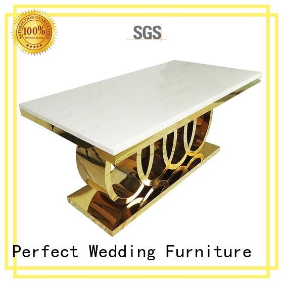 round wedding tables pvc for hotel Perfect Wedding Furniture