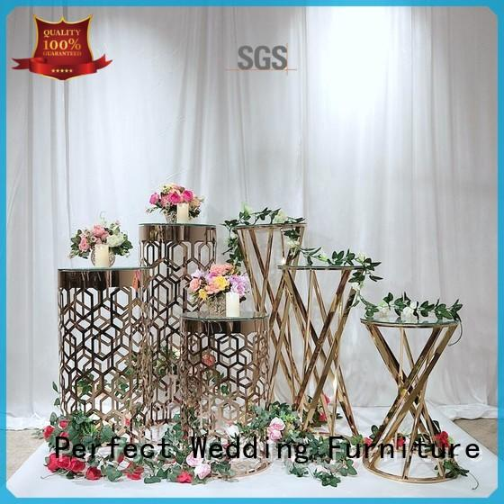 steel wedding flower stand with contemporary manufacturing equipment for hotel Perfect Wedding Furniture