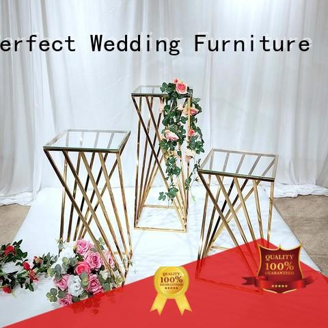 Perfect Wedding Furniture glass flower stands for wedding aisle wholesale for wedding ceremony