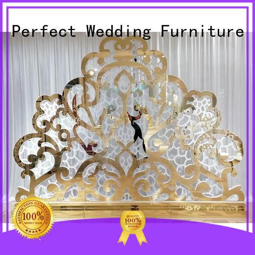 Perfect Wedding Furniture high quality wedding room dividers sliver for hotel