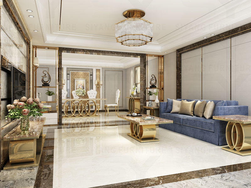 Gold Color CT005 Series for luxury Suite