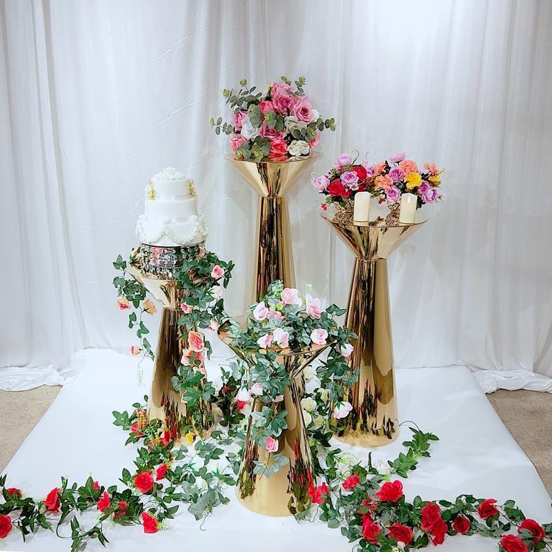 Stainless steel Wedding pedestal stand HJ011