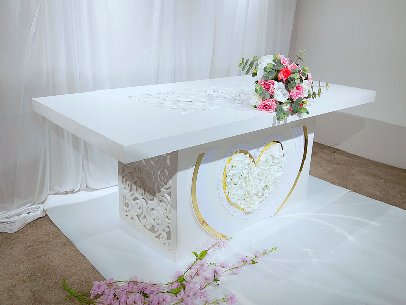 Perfect Wedding Furniture Top bridal table decorations manufacturers for wedding ceremony-2