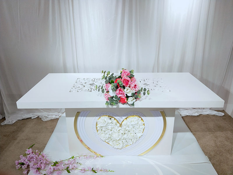 Perfect Wedding Furniture Top bridal table decorations manufacturers for wedding ceremony-3