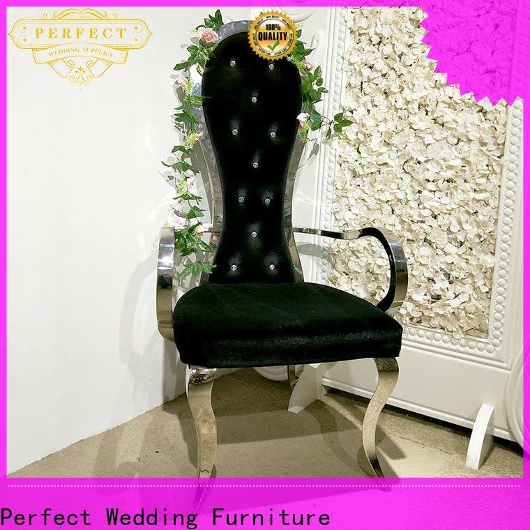 High-quality king throne chair gold factory for hotel
