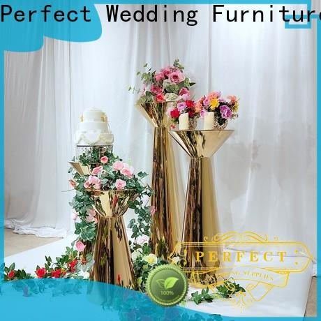 Perfect Wedding Furniture Top flower stand Supply for wedding ceremony