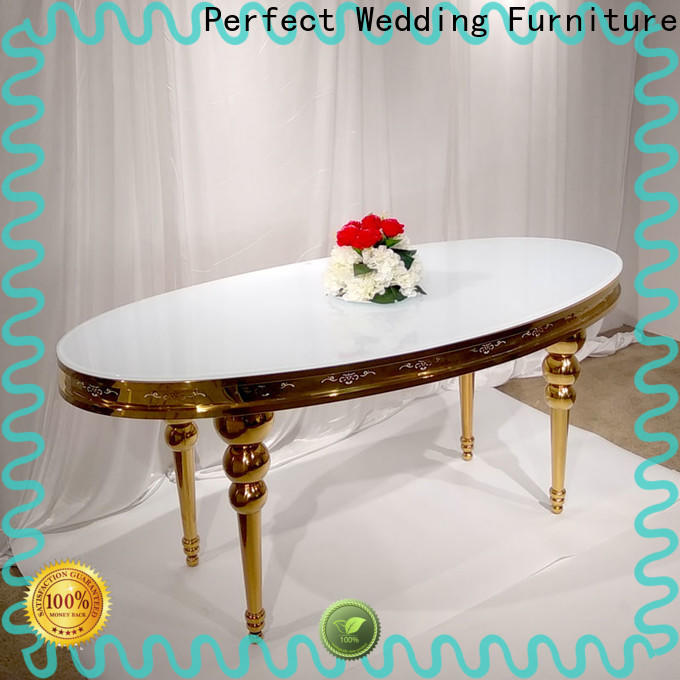 Perfect Wedding Furniture New wedding table setting for buffet dinner manufacturers for hotel