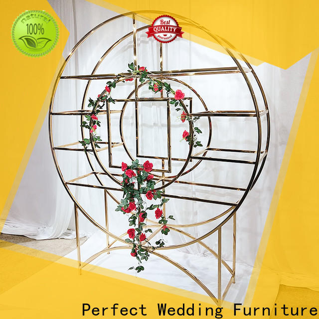Perfect Wedding Furniture beautiful circle shelf Suppliers for indoors