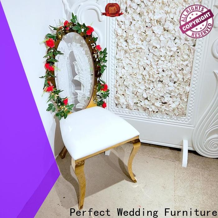 Perfect Wedding Furniture back gold wedding chairs manufacturers for hotel
