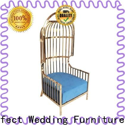Perfect Wedding Furniture Top wedding throne chair Suppliers for wedding ceremony