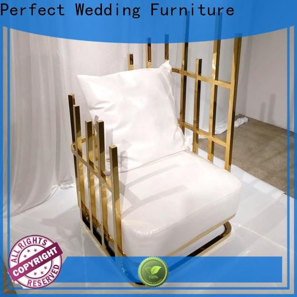 Perfect Wedding Furniture design queen chair manufacturers for wedding ceremony