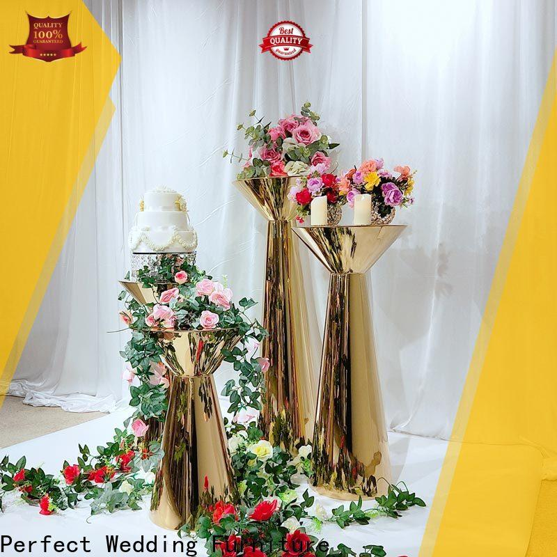 Perfect Wedding Furniture Best metal flower stand Supply for hotel
