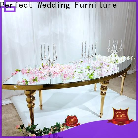 High-quality decoration for wedding table centerpieces glass for business for hotel