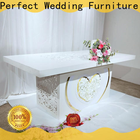 Perfect Wedding Furniture Top wedding dining sets factory for wedding ceremony