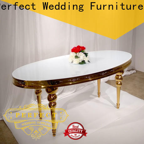 Perfect Wedding Furniture white glass tables for weddings manufacturers for hotel