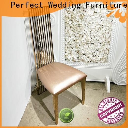 Perfect Wedding Furniture New catering chairs Supply for hotel