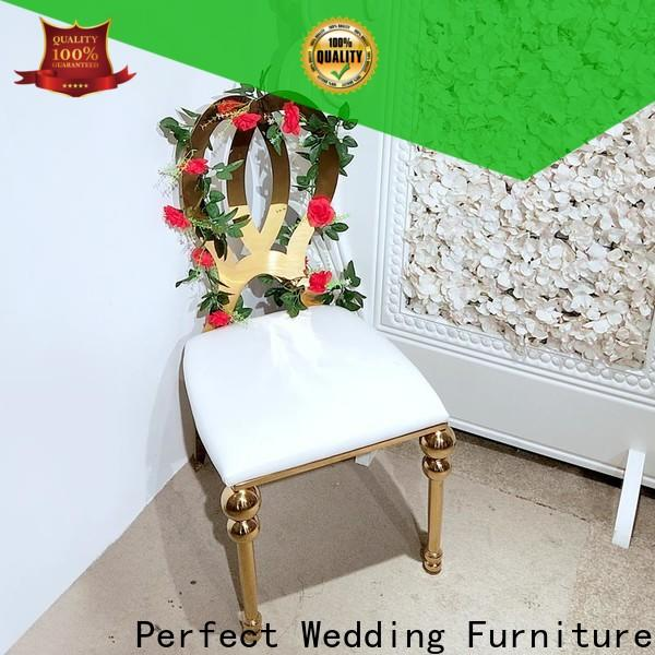 Perfect Wedding Furniture Best gold wedding chairs manufacturers for wedding ceremony
