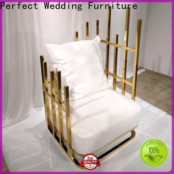 Perfect Wedding Furniture New queen chair Supply for wedding ceremony