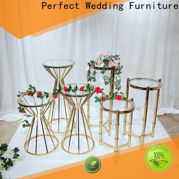 Top flower stand stainless Supply for home