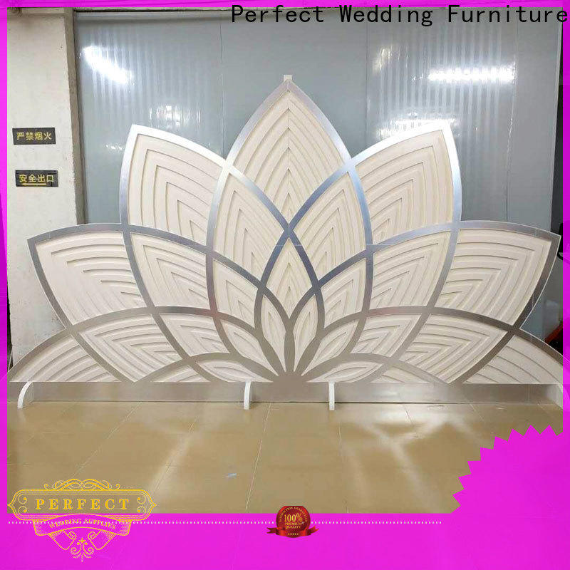 Perfect Wedding Furniture sliver wedding screen partition manufacturers for wedding ceremony