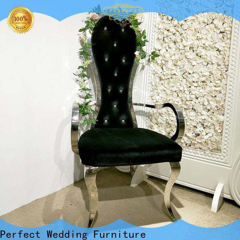 Perfect Wedding Furniture design king throne chair manufacturers for hotel