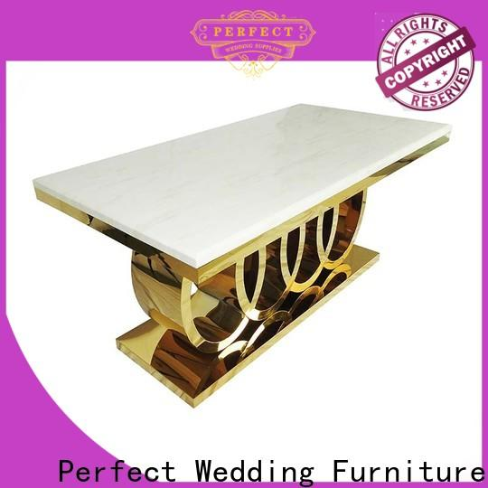High-quality table decorations for wedding tables steel manufacturers for hotel