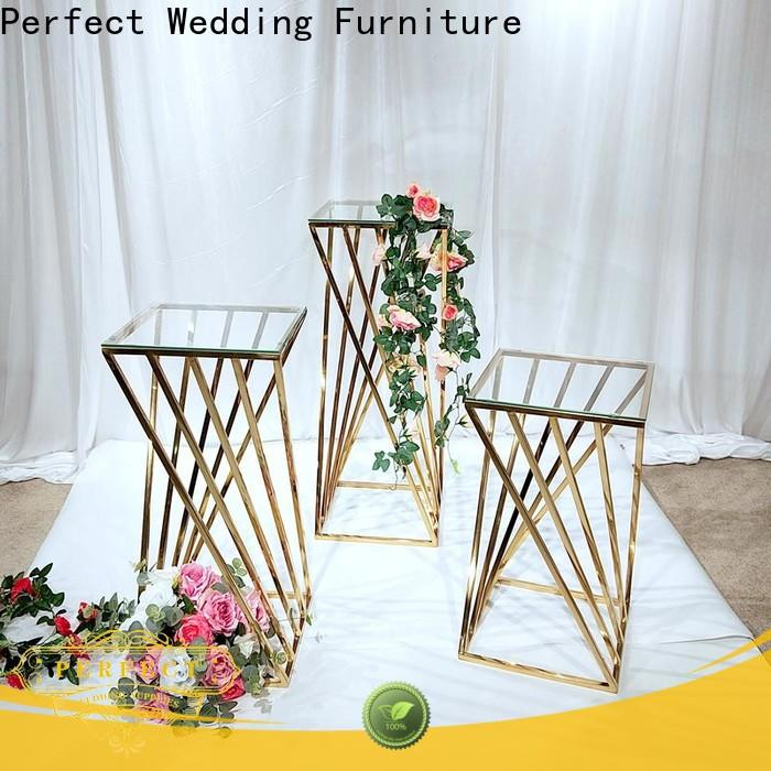 Latest flower stand glass for business for home