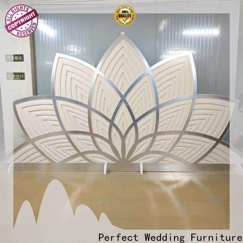 Perfect Wedding Furniture sliver wedding screen partition manufacturers for home