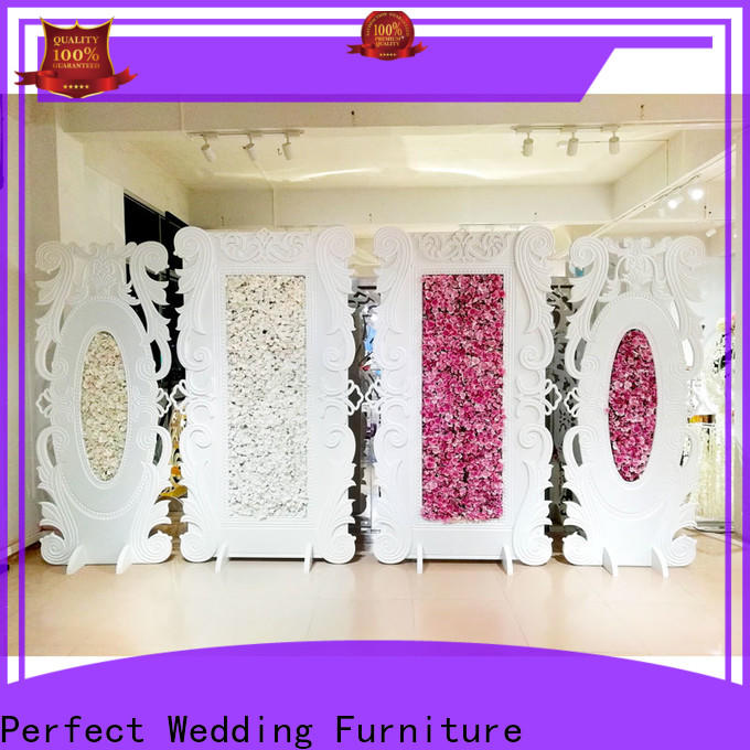 Wholesale decorative room dividers inside factory for wedding ceremony