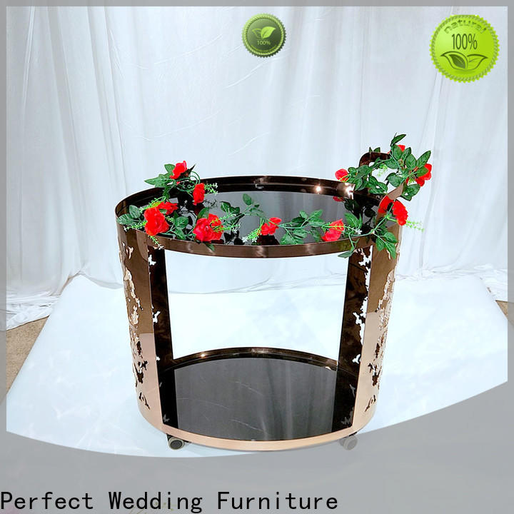 Perfect Wedding Furniture dining trolley bar cart for business for hotel