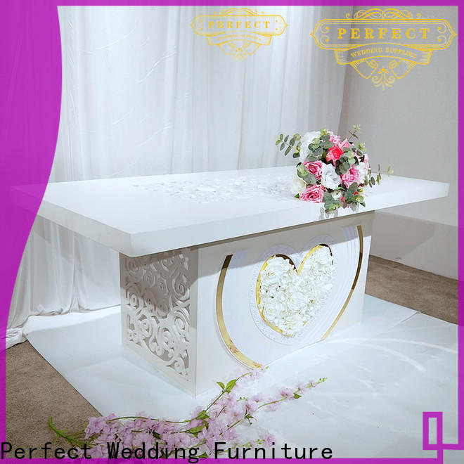 Perfect Wedding Furniture gold bridal table centerpieces for business for wedding ceremony