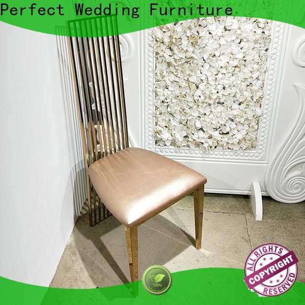 Top bridal chair gold for business for wedding ceremony