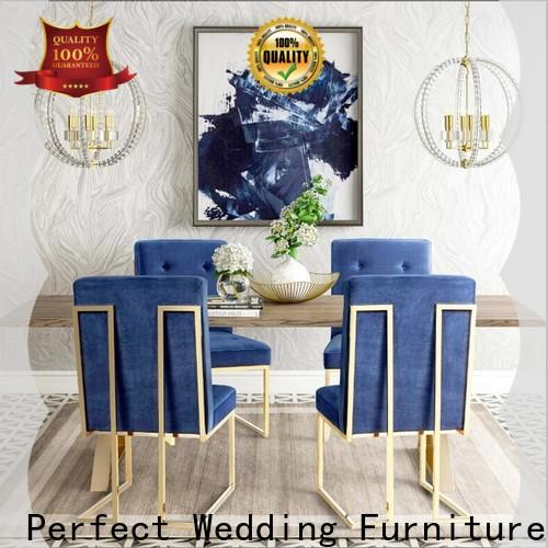 Perfect Wedding Furniture gold king and queen throne chairs Suppliers for hotel