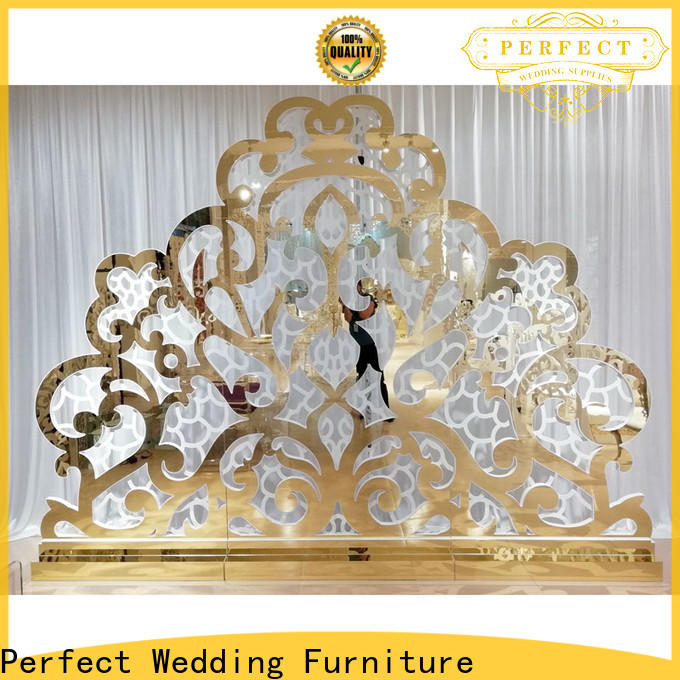 Perfect Wedding Furniture white wedding screen decorations Supply for home