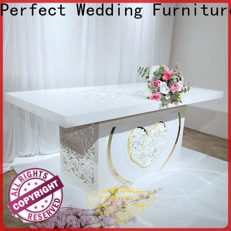 Perfect Wedding Furniture High-quality wedding flowers table centres factory for hotel