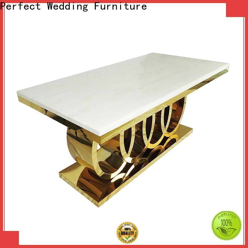 Perfect Wedding Furniture Latest wedding table settings on a budget Suppliers for hotel