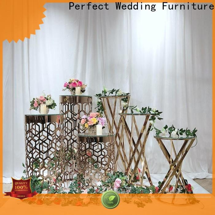 Top metal flower stand beautiful factory for home